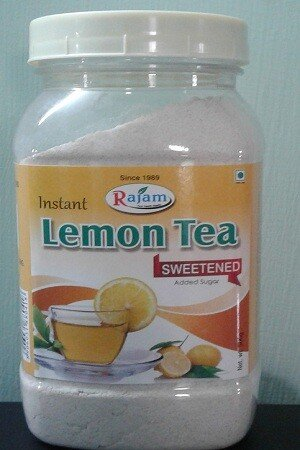 Rajam Lemon Tea Jar 500 Grams