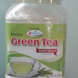Rajam Green Tea Jar 200 Grams
