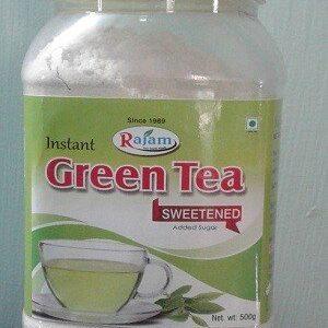 Rajam Green Tea Jar 500 Grams