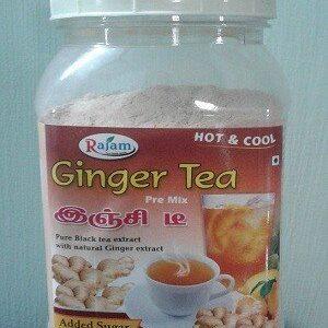 Rajam Ginger Tea Jar 200 Grams