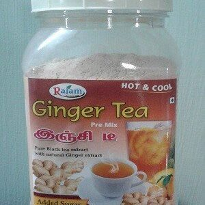 Rajam Ginger Tea Jar 500 Grams