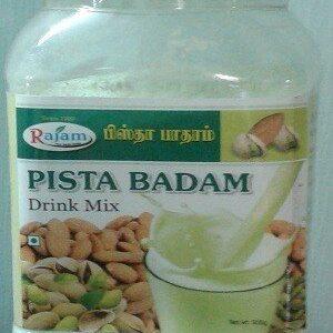 Rajam Pista Badam Jar 500 Grams