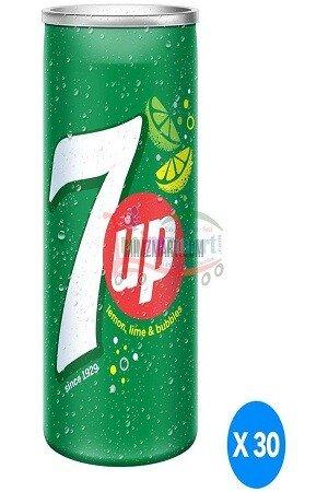 7 Up Soft Drink Lemon 250 Ml Can