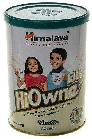 Himalaya Wellness Hi Owna For Kids Vanilla 200 Grams