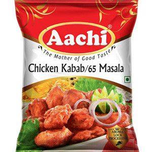 Aachi Masala – Chicken Kabab / Chicken 65, 100 gm Pouch