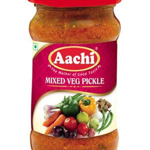 Aachi Mixed Vegetables Pickles 300 Grams