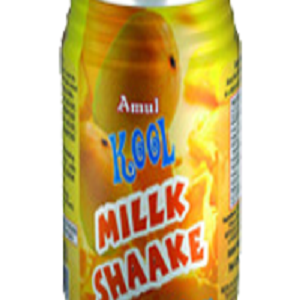 Amul Kool Milk Shake – Mango, 200 ml Can