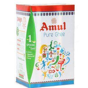 Amul Pure Ghee, 1 ltr Carton