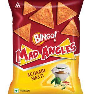 Bingo Mad Angles – Achaari Masti, 80 gm Pouch