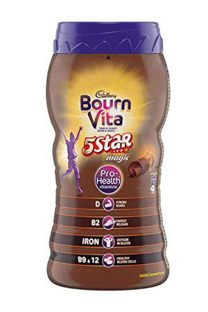 Bournvita Five Star Magic Pro Health Chocolate Drink 500 Grams Jar