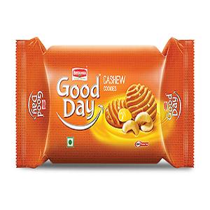 Britannia Good Day Cookies – Rich Cashew, 58 gm Pouch