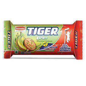 Britannia Tiger Cream Biscuits – Elaichi, 43 gm Pouch