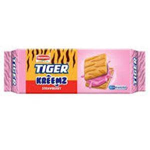 Britannia Tiger Cream Biscuits – Strawberry, 43gm Pouch