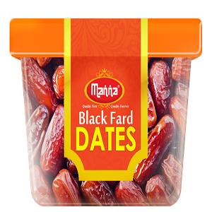 Manna Black Fard Dates 200 Grams