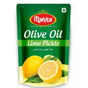 Manna Lime Olive Oil Pickles 50 Grams