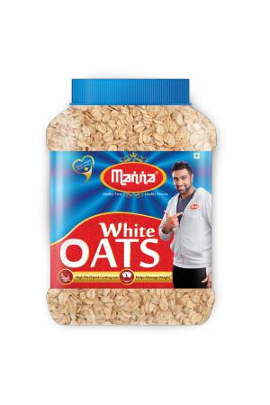 Manna White Oats 500 Grams