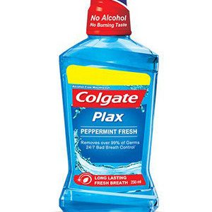 Colgate Mouthwash Plax Peppermint Alcohol Free 500 Ml Bottle