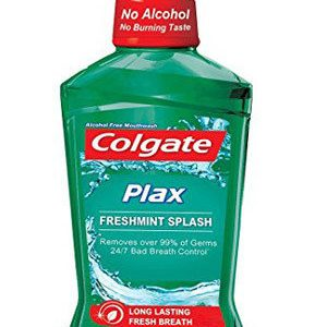 Colgate Mouthwash Plax Fresh Mint Alcohol Free 250 Ml