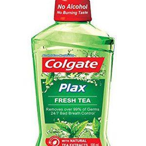 Colgate Mouthwash Plax Fresh Tea Alcohol Free 60 Ml