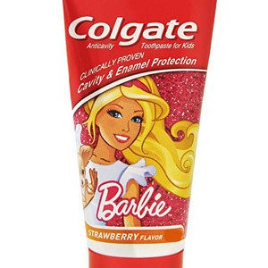 Colgate Toothpaste Barbie Strawberry Kids 40 Grams