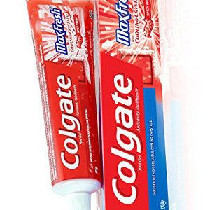 Colgate Toothpaste Maxfresh Spicy Red Gel 150 Grams
