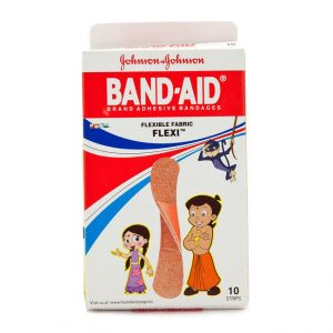 Johnson & Johnson Band-Aid – Flexible Fabric, 10 pcs