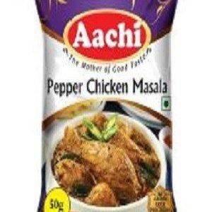 Aachi Masala – Pepper Chicken, 50 gm Pouch