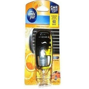 Ambi Pur Car Air Freshner Sweet Citrus And Amp Zest 7.5 Ml Pouch