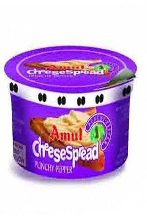 Amul Cheese Spread – Punchy Pepper, 200 gm Box