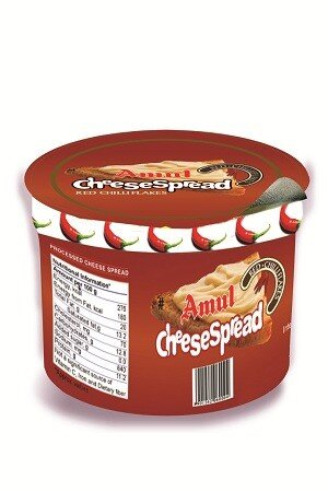 Amul Cheese Spread – Red Chilli Flakes, 200 gm