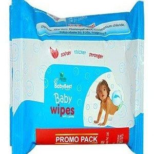 Apollo Pharmacy Baby Best Wipes, BAB0033, 30 pcs
