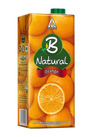 B Natural Orange 200 Ml