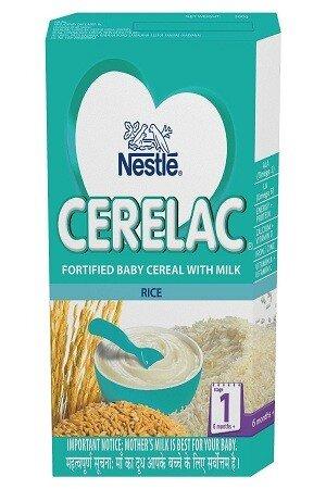 Nestle Cerelac Rice (Stage 1) 300 gm Carton