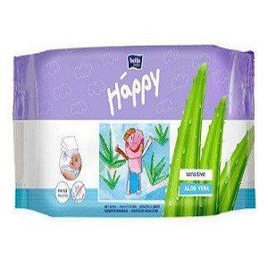 Bella Baby Happy Wet Wipes – Sensitive, 56 pcs