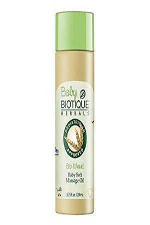 BIOTIQUE Bio Wheatgerm Baby Soft Massage Oil 200 ml