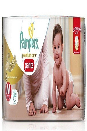 Pampers Premium Care Pants Diapers – Medium Size, 42 pcs