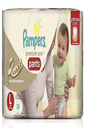 Pampers Premium Care Pants Diapers – Large Size, 38 pcs