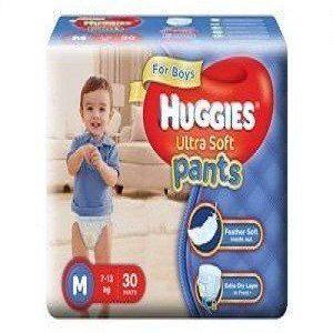 Huggies Wonder Pants Diapers – Medium (7 – 12 kgs), 18 pcs Pouch