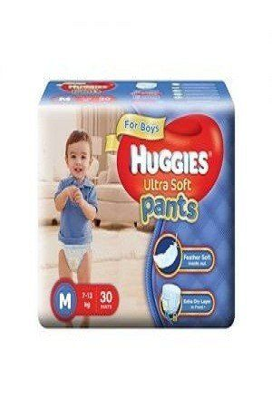 Huggies Wonder Pants Diapers – Small (4 – 8 kgs), 20 pcs Pouch