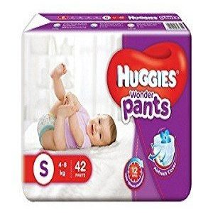 Huggies Wonder Pants Diapers (Small), 42 pcs Pouch