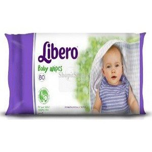 Libero Baby Wipes 80 pcs