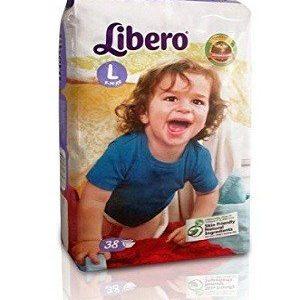 Libero Open Diapers – L, 18 pc Pouch