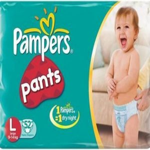 Pampers Pants Diapers – Large Size, 34 pcs Pouch