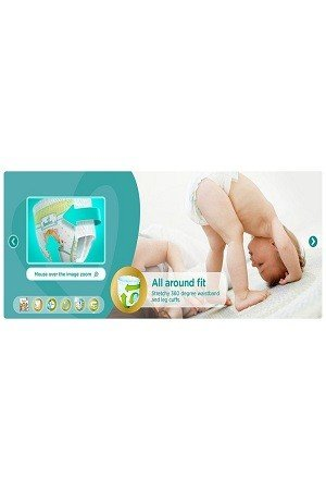 Pampers Premium Care Pants Diapers – Extra Large Size, 46 pcs
