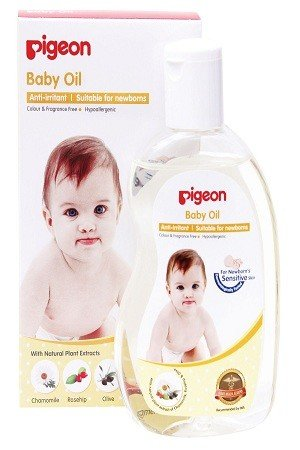 Pigeon Baby Oil Chamomile, Rosehip & Olive Oil 200 ml