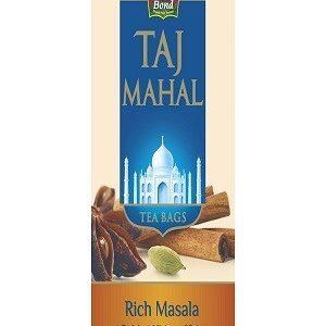 Taj Mahal Tea Bags Rich Masala 25 Pcs