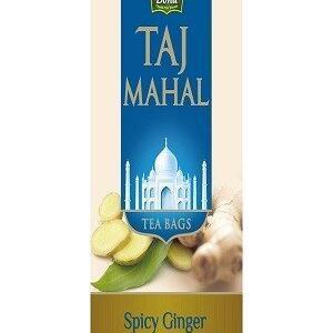 Taj Mahal Tea Bags Spicy Ginger 25 Pcs