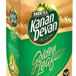 Tata Tea Kanan Devan Tea Golden Leaf 250 Grams Carton