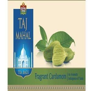 Taj Mahal Tea Bags Fragrant Cardamom 25 Pcs
