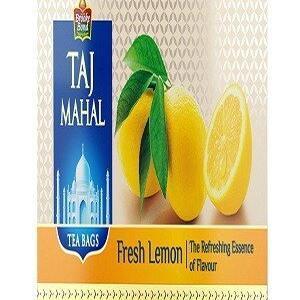 Taj Mahal Tea Bags Fresh Lemon 25 Pcs